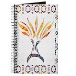 Menorah Aflame Journal