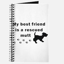 Best Friend Rescued Mutt Journal
