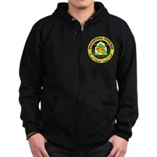 Iraq Force Zip Hoodie