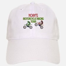 Noah's Motorcycle Racing Baseball Baseball Cap