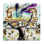 David's Dance Tile Coaster