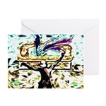 King David's Dance Greeting Cards (Pk of 10)