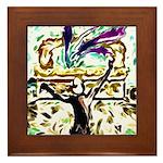 David's Dance Framed Tile