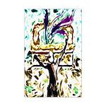 King David's Dance Mini Poster Print