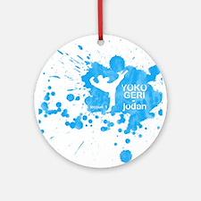 Lesson 1 - Yoko Geri Jodan Ornament (Round)