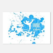 Lesson 1 - Yoko Geri Jodan Postcards (Package of 8