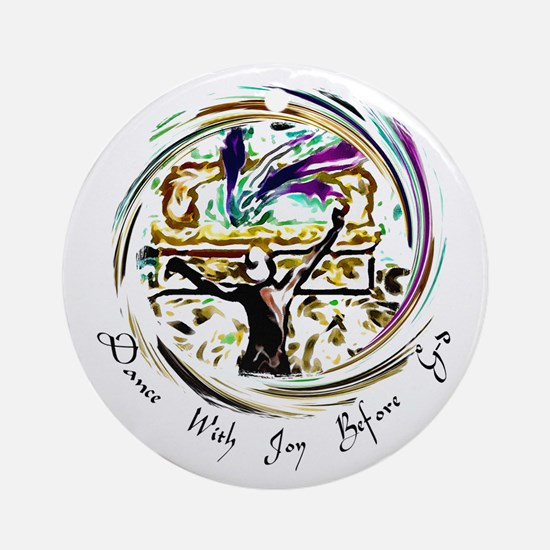 Dance With Joy Ornament (Round)