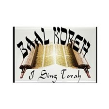 I Sing Torah Rectangle Magnet