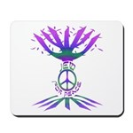 Jew for Peace (Color) Mousepad