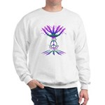 Jew for Peace (Color) Sweatshirt