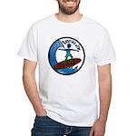Surfing Jew White T-Shirt