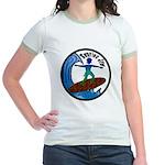 Surfing Jew Jr. Ringer T-Shirt