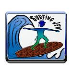 Surfing Jew Mousepad