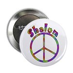 Shalom Peace Button