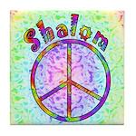 Shalom Peace Tile Coaster