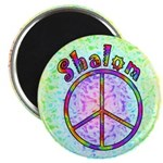 "Shalom Peace 2.25"" Magnet (100 pack)"