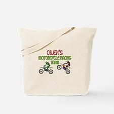 Owen's Motorcycle Racing Tote Bag