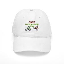 Owen's Motorcycle Racing Baseball Cap
