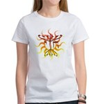 Chai Menorah Sun Women's T-Shirt