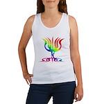 Rainbow Menorah Women's Tank Top