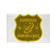 Didgeridoo Drinking League Rectangle Magnet
