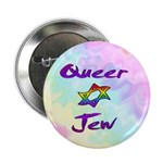 "Queer Jew 2.25"" Button (10 pack)"
