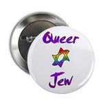 "Queer Jew 2.25"" Button (100 pack)"
