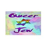 Queer Jew Rectangle Magnet (10 pack)