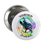"Kosher Queer 2.25"" Button (100 pack)"