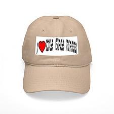 I Love My Gay Rabbi Baseball Cap
