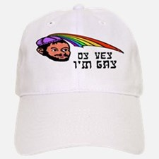 Oy Vey I'm Gay Cap
