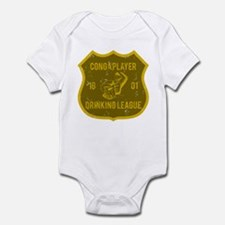 Conga Player Drinking League Infant Bodysuit