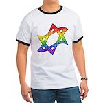 Rainbow Star of David Ringer T