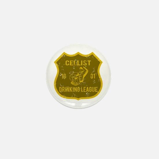 Cellist Drinking League Mini Button