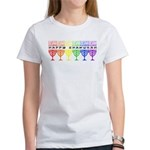 Rainbow Happy Chanukah Women's T-Shirt