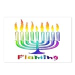 Flaming Postcards (Package of 8)
