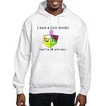 I Have a Little Dreidel Hooded Sweatshirt