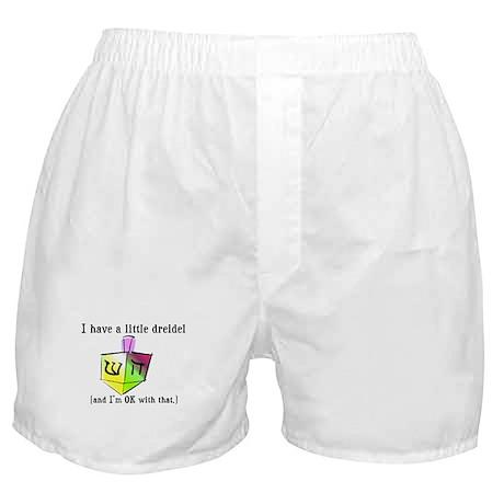 I Have a Little Dreidel Boxer Shorts