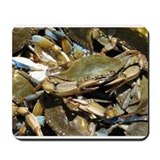 Blue Crabs Mousepad