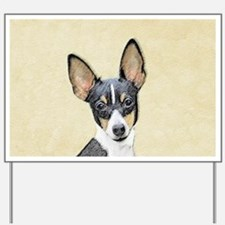 Fox Terrier (Toy) Yard Sign