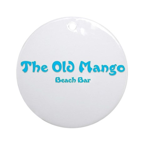 The Old Mango Ornament (Round)