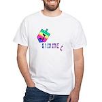 Gimmel White T-Shirt