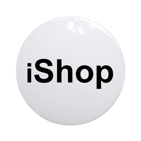 iShop Ornament (Round)