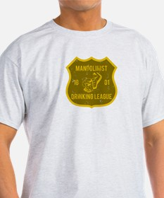 Mandolinist Drinking League T-Shirt
