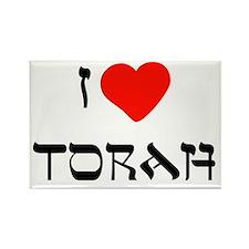 I Heart Torah Rectangle Magnet