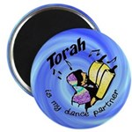 "Torah is My Dance Partner 2.25"" Magnet (10 pack)"