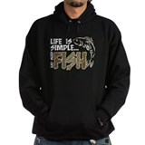 Fly fishing Dark Hoodies