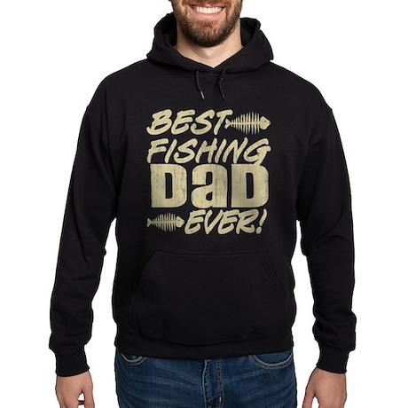 Best Fishing Dad Ever! Hoodie (dark)