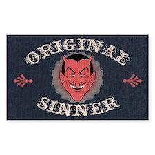 Original Sinner Rectangle Decal