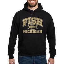 Fish Michigan Hoodie
